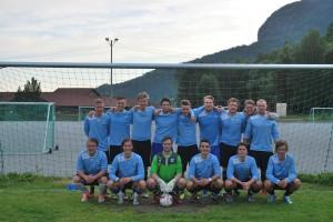 A-lag etter seier mot eikelandsfjorden