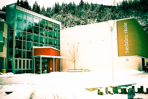 Sædalen Skole vinter 2012