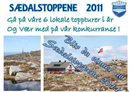 Sædalstoppene 2011