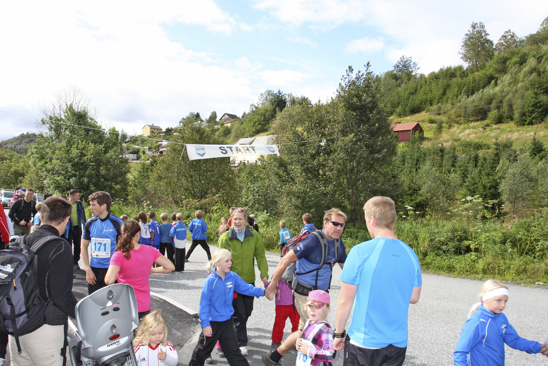 Sædalsløpet 2011 Foto: Vibeke Blich, med tillatelse fra Fanaposten