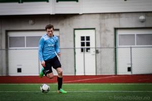 Andreas Bøe Sjo scoret to av målene mot Fyllingsdalen. Arkivbilde: Bernt-Erik Haaland / fotballbilder.no