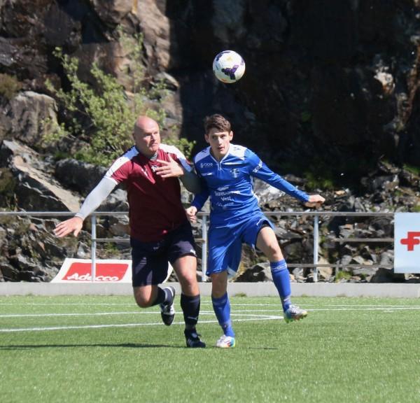 Sotra 2 - Sædalen 2-0: Roar Fredriksen. Foto: Karstein Oen.