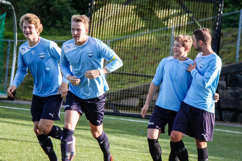 Fana 2 - Sædalen 1-2: Jonas Fredriksen scoret før det var gått ett minutt. Foto: Jesper Hadler-Olsen