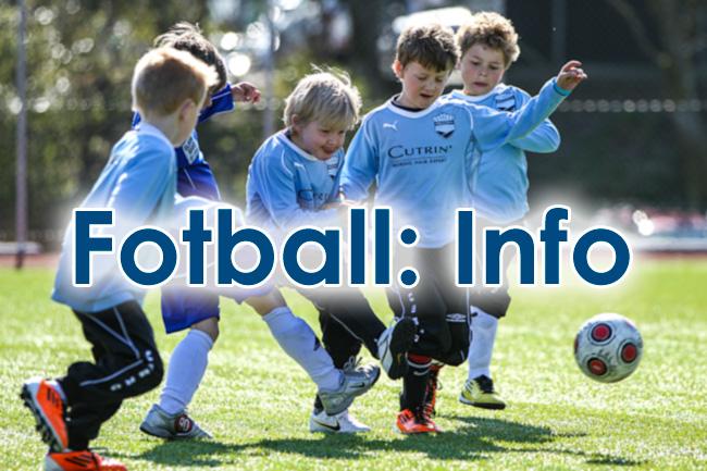Fotball Info. Foto: © Bernt-Erik Haaland / fotballbilder.no