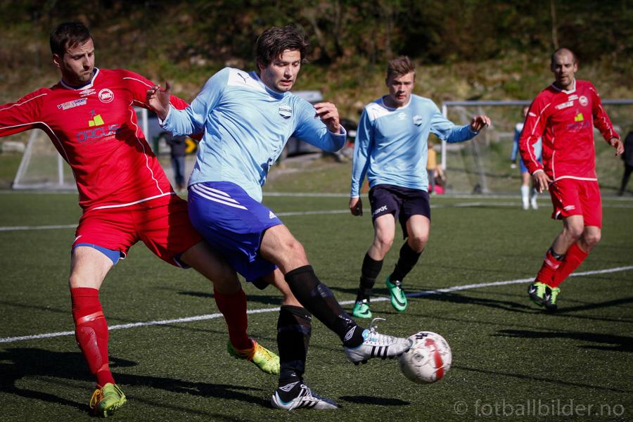 Sædalen vs Søre/Nore Neset 2-2: Harris Milak utligner til 1-1 foto: © fotballbilder.no